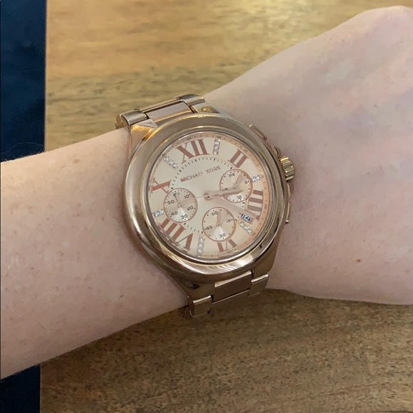 Michael Kors Camille Rose Gold Watch MK 5652